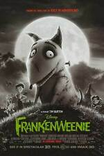 Frankenweenie Regular Double Sided Original Movie Poster 27x40 inches