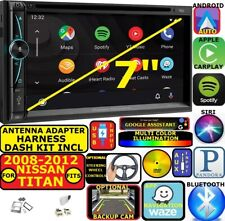 FITS 2008-2012 TITAN NAV BLUETOOTH CD/DVD CARPLAY ANDROID AUTO CAR RADIO STEREO