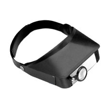 Three Lens Multi Magnifier Head Band Loupe Visor Jewelry Watchmakers Repair Tool