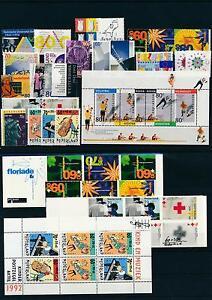 Netherlands Niederlande 1992 Year Set Complete incl. Miniature Sheets MNH