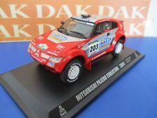 Die cast 1/43 Modellino Auto Mitsubishi Pajero Evolution Rally Paris Dakar 2004