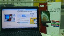 "2pcs 15.4"" W(330 x 206)mm Anti Glare MonitorTouch Screen Protector Film+Wet Wipe"
