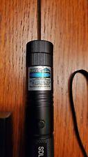 1mW Blue Purple Laser Pointer 700Miles Assassin Visible Beam Lazer Pen+Batt+Char