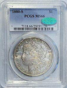 1880 S  MS66 CAC verified PCGS Morgan Dollar