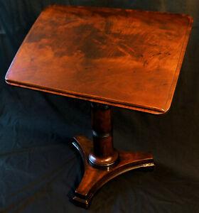 Exquisite Victorian Mahogany Bookstand or Music Lectern Podium