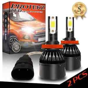 LED Headlight Bulbs Kit CREE H9 for 2008-2011 Benz S450 High Beam 6000K