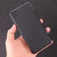 Black Gel TPU Slim Soft Case Back Cover For Blackberry Motion Krypton BBD100