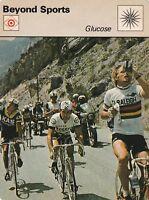 1978 Sportscaster Card Beyond Sports Glucose NRMINT / MINT