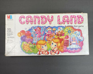 Vintage 1984 Candy Land Board Game Milton Bradley Missing Instructions SEE PICS