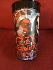 Ozzyosborne-Scream-World- Tour-Beer-Cup-New ( 24oz w/o ice) lot of 179 For $1.00e