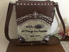 Western Crossbody Concealed Carry Purse
