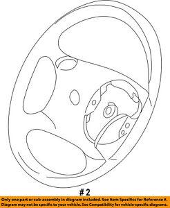 FORD OEM-Steering Wheel 5L2Z3600AAB