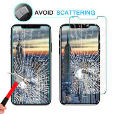 1x Premium Tempered Glass Screen Protector Guard Shield Saver For iPhone -X