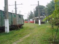 PHOTO  ROMANIA GHIOROC TRAM  DERELICT CARS V4