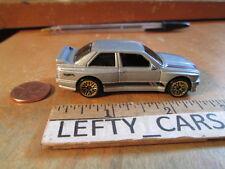 HOTWHEELS 1992 SILVER BMW M3 SCALE 1/64 - LOOSE! NO BOX! STOCK#1