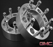 2 Pc 2011-2015 GMC 2500 8x180mm Wheel Spacer Adapters 1.50 Inch # 8180C1415