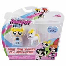 Acción 2 pulgadas PowerPuff Girls The Muñecas-y Donny The Unicorn-Bubbles Nuevo