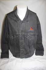 Vintage Hollywood Pictures International Denim Men's Black Jean Jacket Size XL
