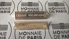 Agrafe en Argent Monnaie de Paris : ENGAGE VOLONTAIRE