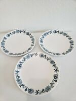 Noritake Progression Stephanie Pattern 9027 Salad plates Set of 3