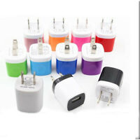 LOT USB Wall Charger Plug Home Power Adapter For Samsung LG HTC Android iPhone