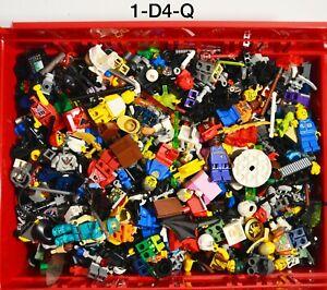 Lego Minifigure Bulk Lot 2 Pounds Space Vintage Castle Star Wars  Accessories