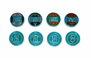 LEGO Dimensions Toy Tag Base Wonder Woman, Bane, Aquaman, Cyborg, Lloyd Ninja