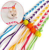 Cute Pets Adjustable Ferret Harness Baby Rabbit Hamster Mouse Leash Leads