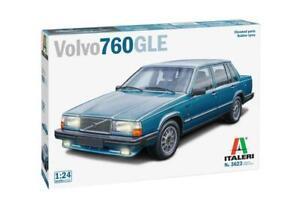 Volvo 760 Gle Parti Cromate – Ruote In Gomma Kit ITALERI 1:24 IT3623 Model