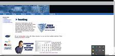 Beautifull Web Hosting Template Website Free Installation