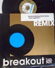 "LA MIX ft KEVIN HENRY ~ Love Together REMIX ~ 12"" Single PS PROMO"