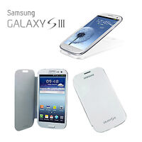US Seller Brushed Flip Case Battery Cover Skins For Samsung Galaxy SIII i9300 S3