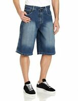 Southpole Men's Core Denim Short Medium Wash Sz 29, 30, 32