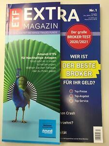 ETF EXTRA MAGAZIN Ausgabe 1 Dezember/Januar 2021