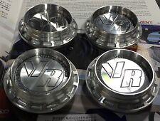 VoLk Racing Edition center Caps Fit GT,TE37,CE28,RE30 JDM Set Of 4 Pcs
