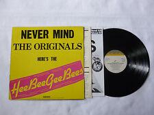 THE HEEBEEGEEBEES ~ 439 GOLDEN GREATS ~ EX+/VG+ ~ 1981 UK COMEDY/PARODY VINYL LP