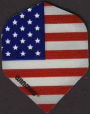 American Flag WINMAU Dart Flights: 3 per set