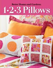 123 Oreillers Coussins Quilting livre Leisure arts Better Homes and gardens