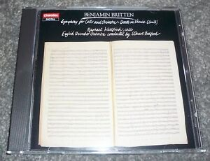 CHAN 8363 - BRITTEN - SYMPHONY FOR CELLO AND ORCHESTRA - WALLFISCH / BEDFORD