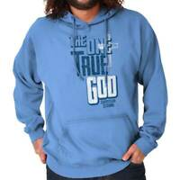 The One True God Christian Religious Jesus Christ Gift Hooded Sweatshirt