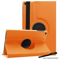 Housse Etui Orange pour Samsung Galaxy Tab A 10.1 2019 T510 Support Rotatif 360°