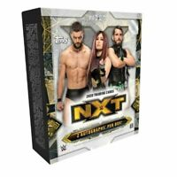 2020 TOPPS WWE NXT Hobby Box Factory Sealed IN STOCK FREE SHIPPING