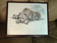 Vintage Ralph Thompson MBE 1981 ROYALE PUBLICATIONS Limited Edition BEARS PRINT