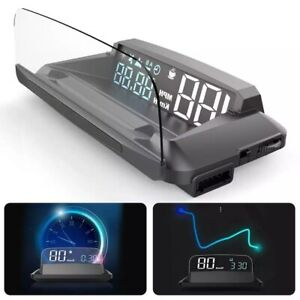 For Car Digital GPS Speedometer Head-up Display Overspeed MPH KM/H Warning Alarm