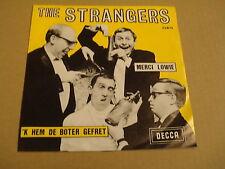 45T SINGLE / THE STRANGERS - MERCI LOWIE