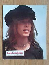 POLANSKI: Weekend Of A Champion 1973 scarce portrait LC Helen Stewart FORMULA 1