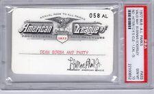 1977 Dennis Eckersley No-Hit Ticket pass psa/12 K/Gem Mt 10 Red Sox Boston