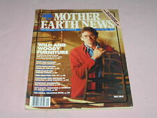 Mother Earth News 103 January February 1987 Twig Furniture Prepare Homestead