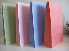 20 x Mix Color Paper Gift / Loot / Lolly Party Bags - 32 x 18 x 7.5cm