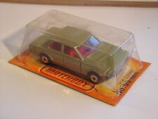 MATCHBOX  FORD CORTINA 1600 GL  -  55 MIB NEUF BOITE SUPERFAST  french box
